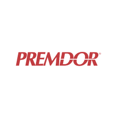 Premdor Logo - a Limino customer